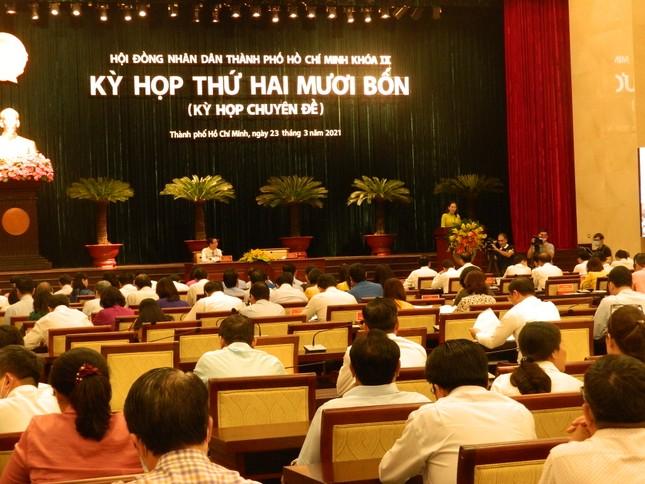 HĐND TPHCM họp bất thường, xem xét công tác nhân sự ảnh 1
