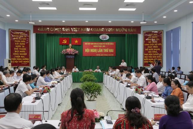 Bí thư Nguyễn Văn Nên: 'Bảo vệ cán bộ dám nghĩ, dám làm' ảnh 1