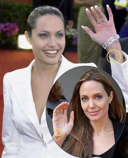 Những câu chuyện cuộc đời Angelina Jolie qua hình xăm ảnh 3