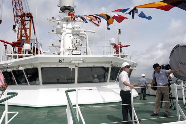 Cận cảnh tàu Kiểm ngư hiện đại nhất Việt Nam ảnh 11