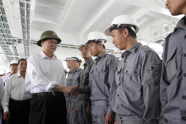 Cận cảnh tàu Kiểm ngư hiện đại nhất Việt Nam ảnh 2
