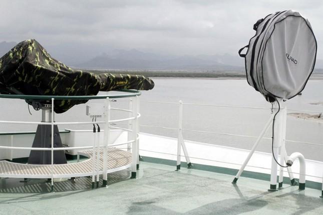 Cận cảnh tàu Kiểm ngư hiện đại nhất Việt Nam ảnh 8