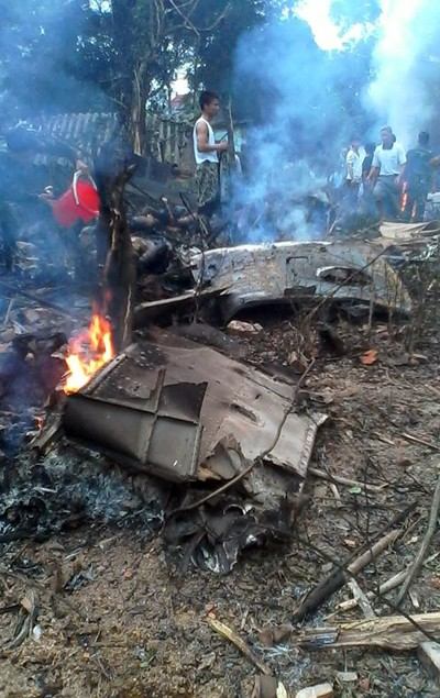 Phó Tổng tham mưu trưởng: 'Máy bay rơi do sự cố kỹ thuật' ảnh 1