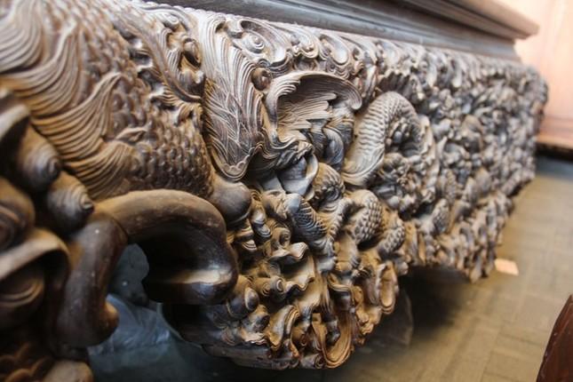 Sập gỗ trắc bạc tỷ của tay buôn đồ cũ Hà thành ảnh 5