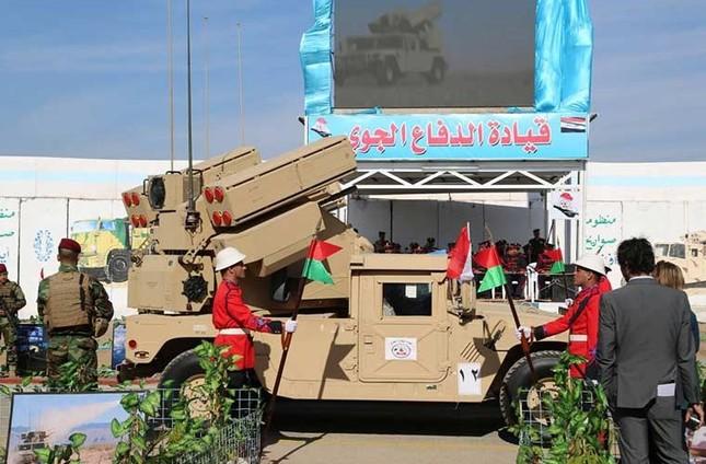 Phòng không Iraq duyệt binh khoe vũ khí tối tân ảnh 11