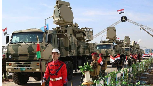 Phòng không Iraq duyệt binh khoe vũ khí tối tân ảnh 1