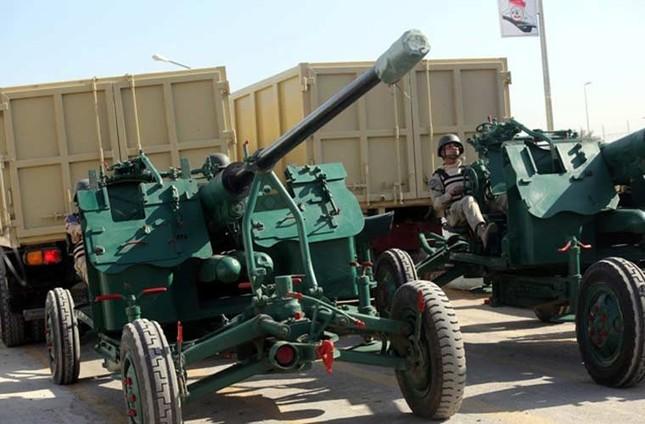 Phòng không Iraq duyệt binh khoe vũ khí tối tân ảnh 5