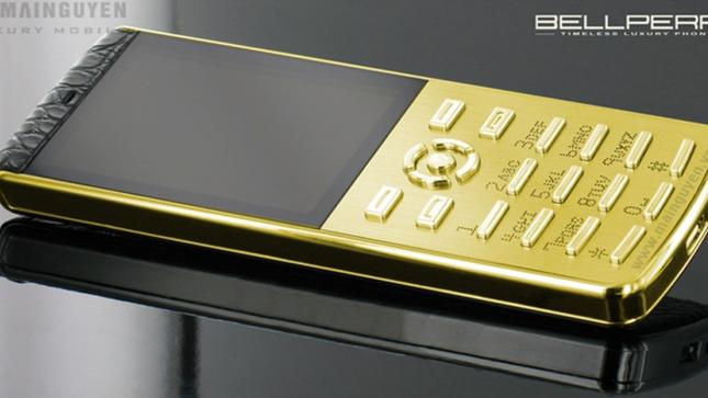 Những chiếc điện thoại đắt khủng khiếp hiện nay ảnh 4