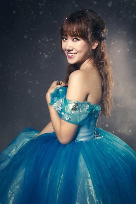 Hari Won hóa thành Cinderella bên 'Hoàng tử' Harry Lu ảnh 6