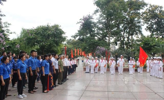 Tuổi trẻ Thủ đô ghi nhớ công ơn Chủ tịch Hồ Chí Minh ảnh 1