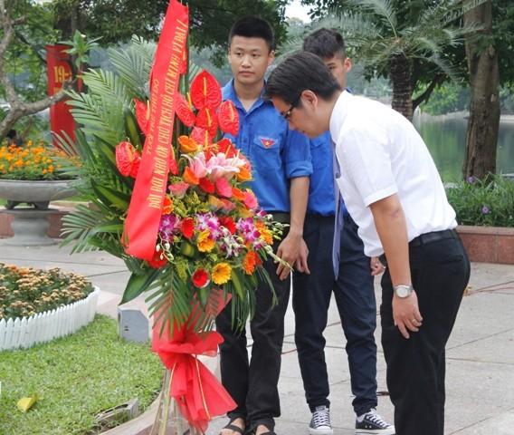 Tuổi trẻ Thủ đô ghi nhớ công ơn Chủ tịch Hồ Chí Minh ảnh 2
