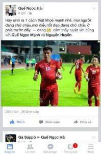 Thủ quân U23 Việt Nam nói về pha ăn mừng kiểu 'bụng bầu' ảnh 1