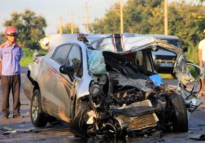 Tai nạn ô tô kinh hoàng trên quốc lộ, 2 CSGT tử vong ảnh 1