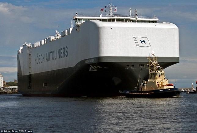 Choáng ngợp trước tàu chở ôtô lớn nhất thế giới ảnh 1