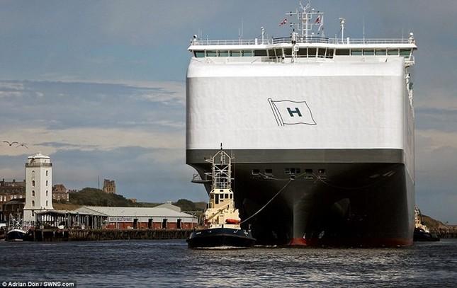 Choáng ngợp trước tàu chở ôtô lớn nhất thế giới ảnh 6