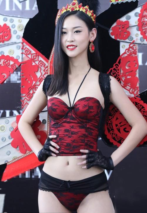 Nhan sắc thí sinh Hoa hậu Hoàn vũ Trung Quốc diện bikini ảnh 10