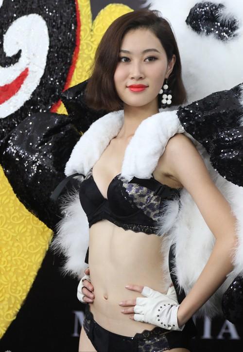 Nhan sắc thí sinh Hoa hậu Hoàn vũ Trung Quốc diện bikini ảnh 1