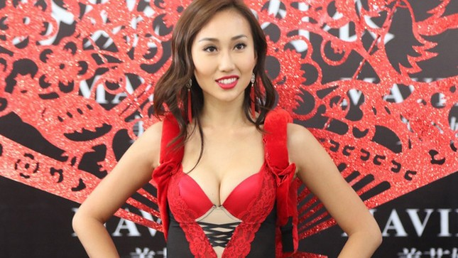 Nhan sắc thí sinh Hoa hậu Hoàn vũ Trung Quốc diện bikini ảnh 3