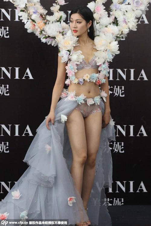 Nhan sắc thí sinh Hoa hậu Hoàn vũ Trung Quốc diện bikini ảnh 8
