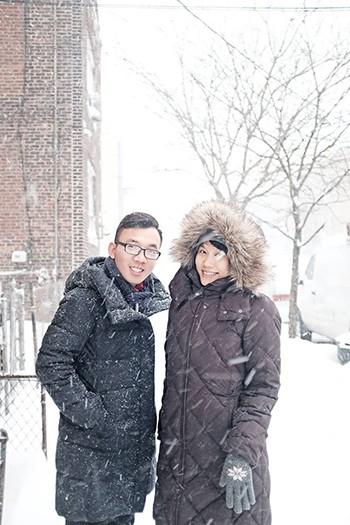 Người Việt ở Mỹ trong bão tuyết lịch sử ảnh 2