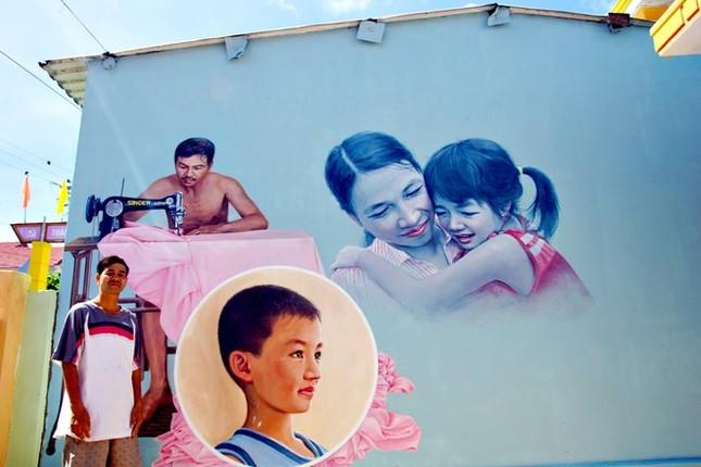 Thanh niên xứ Hàn làm làng bích họa độc đáo ở Quảng Nam ảnh 6