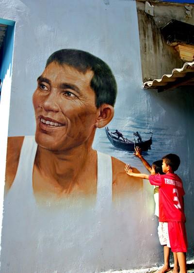 Thanh niên xứ Hàn làm làng bích họa độc đáo ở Quảng Nam ảnh 9
