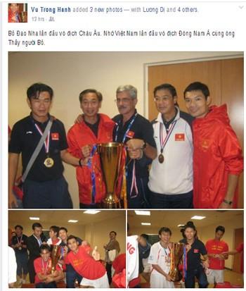 Tuyển thủ Việt Nam nhớ Calisto khi Bồ Đào Nha vô địch ảnh 1
