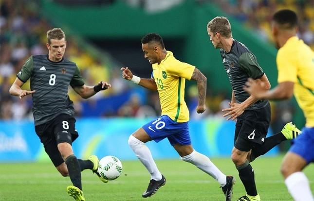 Neymar và khoảnh khắc đi vào lịch sử bóng đá Brazil ảnh 11