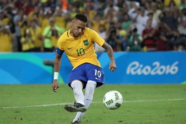 Neymar và khoảnh khắc đi vào lịch sử bóng đá Brazil ảnh 3