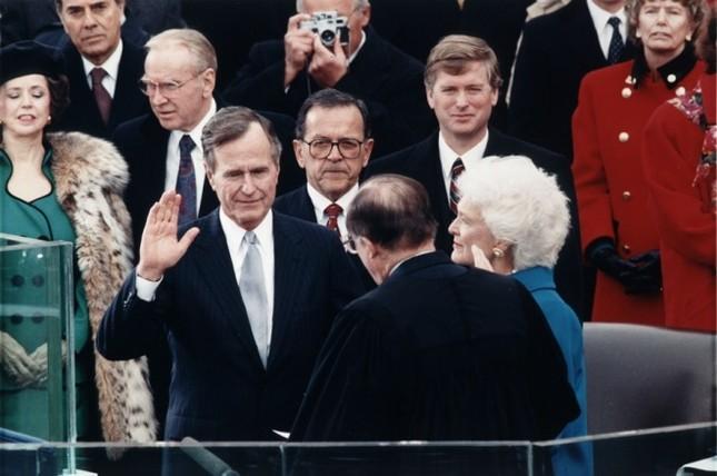 Bàn tiệc lễ nhậm chức qua các đời tổng thống Mỹ ảnh 8