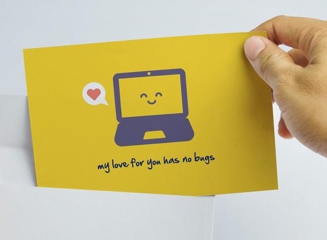 Thiệp Valentine độc đáo của cư dân mạng ảnh 6