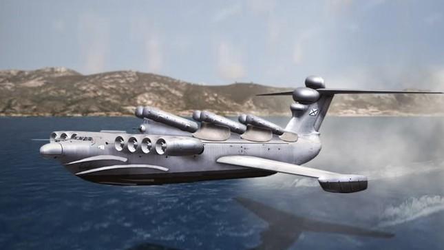 Khám phá sức mạnh 'quái vật biển Caspian' ảnh 1