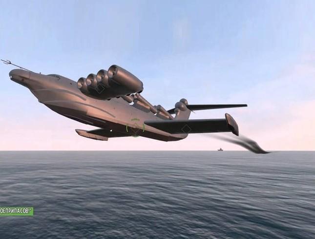 Khám phá sức mạnh 'quái vật biển Caspian' ảnh 8