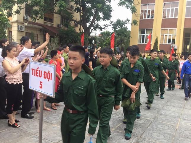 Lạng Sơn: Chiến sỹ nhí học kỳ Quân đội xuất quân ảnh 3