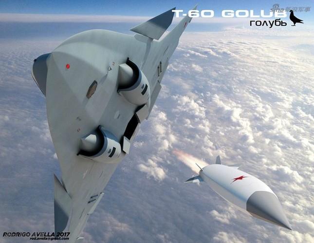 Rò rỉ thiết kế chiến đấu cơ thế hệ 6 của Nga ảnh 1