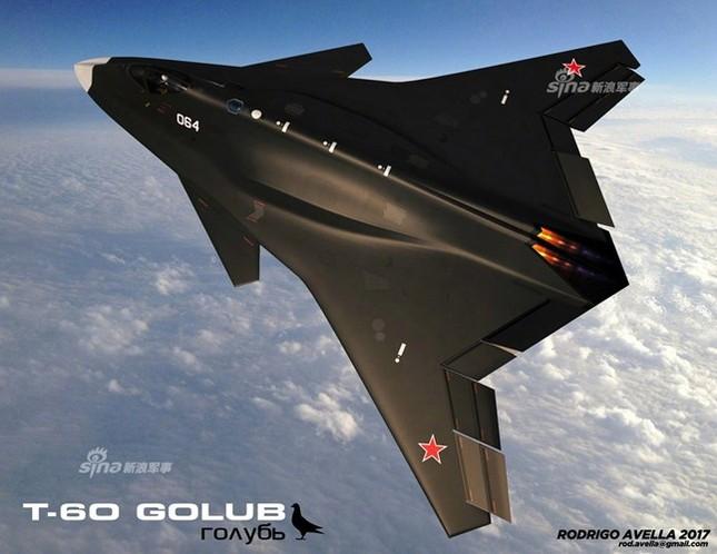 Rò rỉ thiết kế chiến đấu cơ thế hệ 6 của Nga ảnh 2