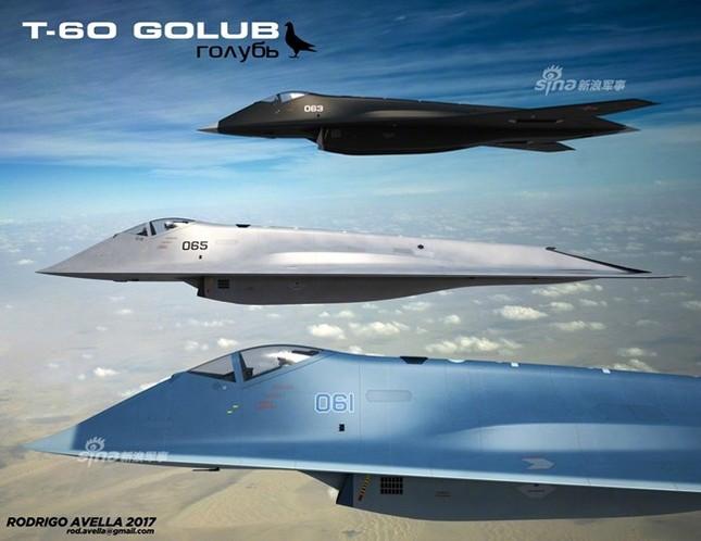 Rò rỉ thiết kế chiến đấu cơ thế hệ 6 của Nga ảnh 3
