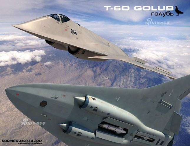 Rò rỉ thiết kế chiến đấu cơ thế hệ 6 của Nga ảnh 4