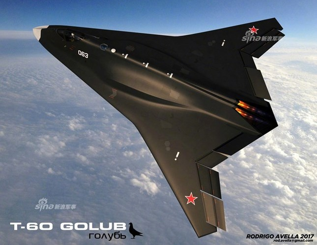 Rò rỉ thiết kế chiến đấu cơ thế hệ 6 của Nga ảnh 5