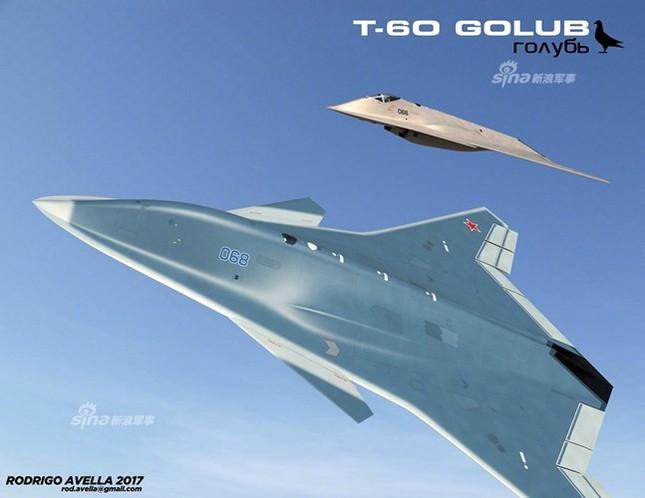 Rò rỉ thiết kế chiến đấu cơ thế hệ 6 của Nga ảnh 6