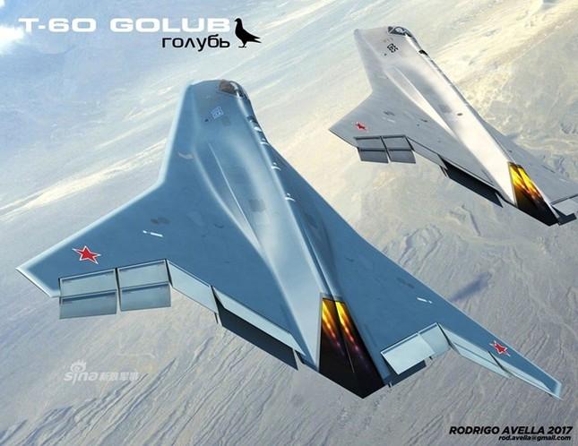 Rò rỉ thiết kế chiến đấu cơ thế hệ 6 của Nga ảnh 7