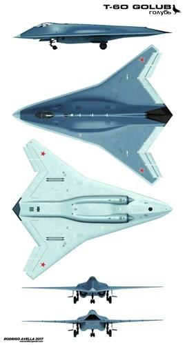 Rò rỉ thiết kế chiến đấu cơ thế hệ 6 của Nga ảnh 8