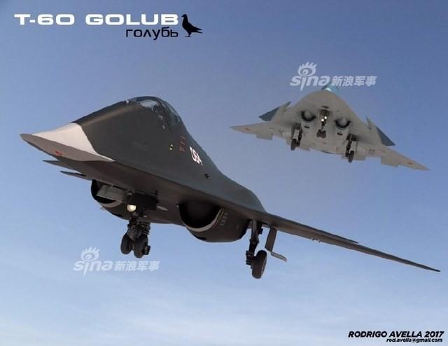 Rò rỉ thiết kế chiến đấu cơ thế hệ 6 của Nga ảnh 9