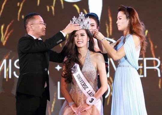 Cận cảnh nhan sắc Hoa hậu Hoàn vũ đầu tiên của Lào ảnh 2