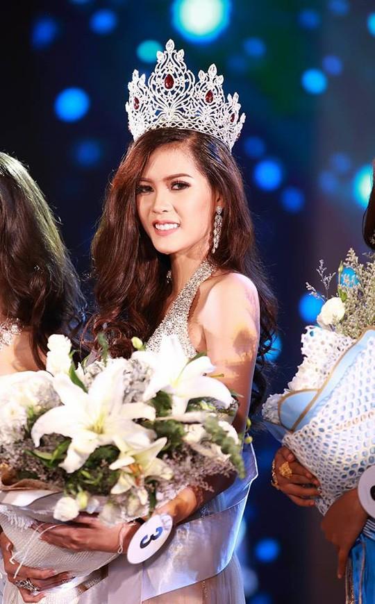 Cận cảnh nhan sắc Hoa hậu Hoàn vũ đầu tiên của Lào ảnh 4