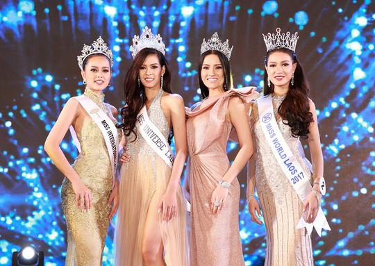 Cận cảnh nhan sắc Hoa hậu Hoàn vũ đầu tiên của Lào ảnh 7