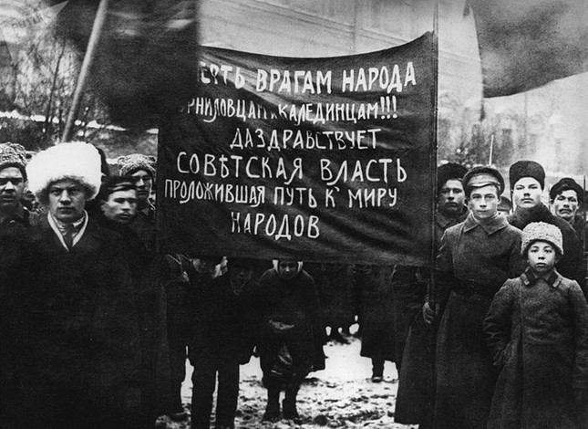 Ảnh hiếm về cuộc Cách mạng Tháng Mười Nga 100 năm trước ảnh 10