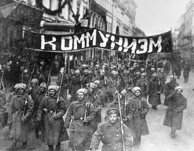 Ảnh hiếm về cuộc Cách mạng Tháng Mười Nga 100 năm trước ảnh 3