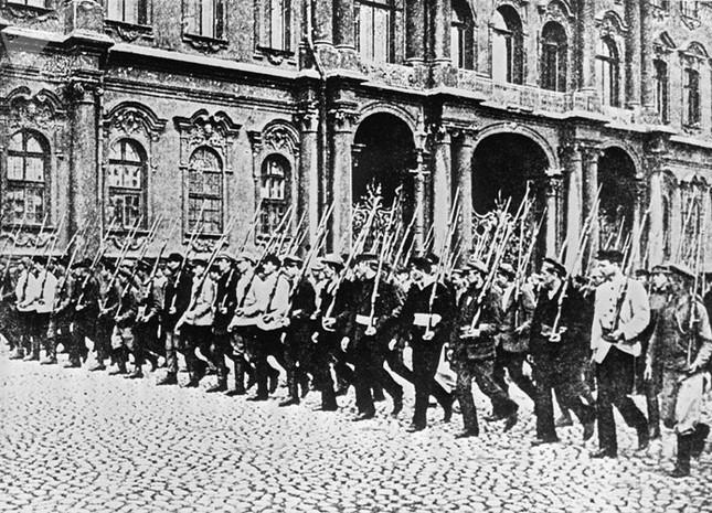 Ảnh hiếm về cuộc Cách mạng Tháng Mười Nga 100 năm trước ảnh 6