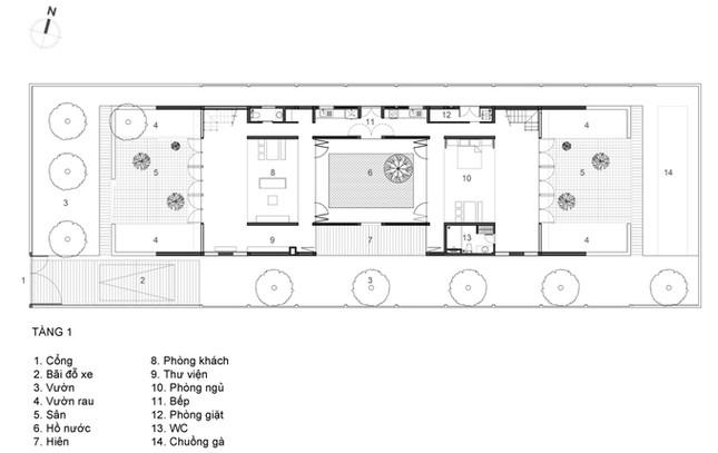 Cuộc sống thư giãn trong ngôi nhà 'thủng mái' ở Long An ảnh 12